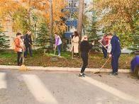 Осенний общегородской субботник