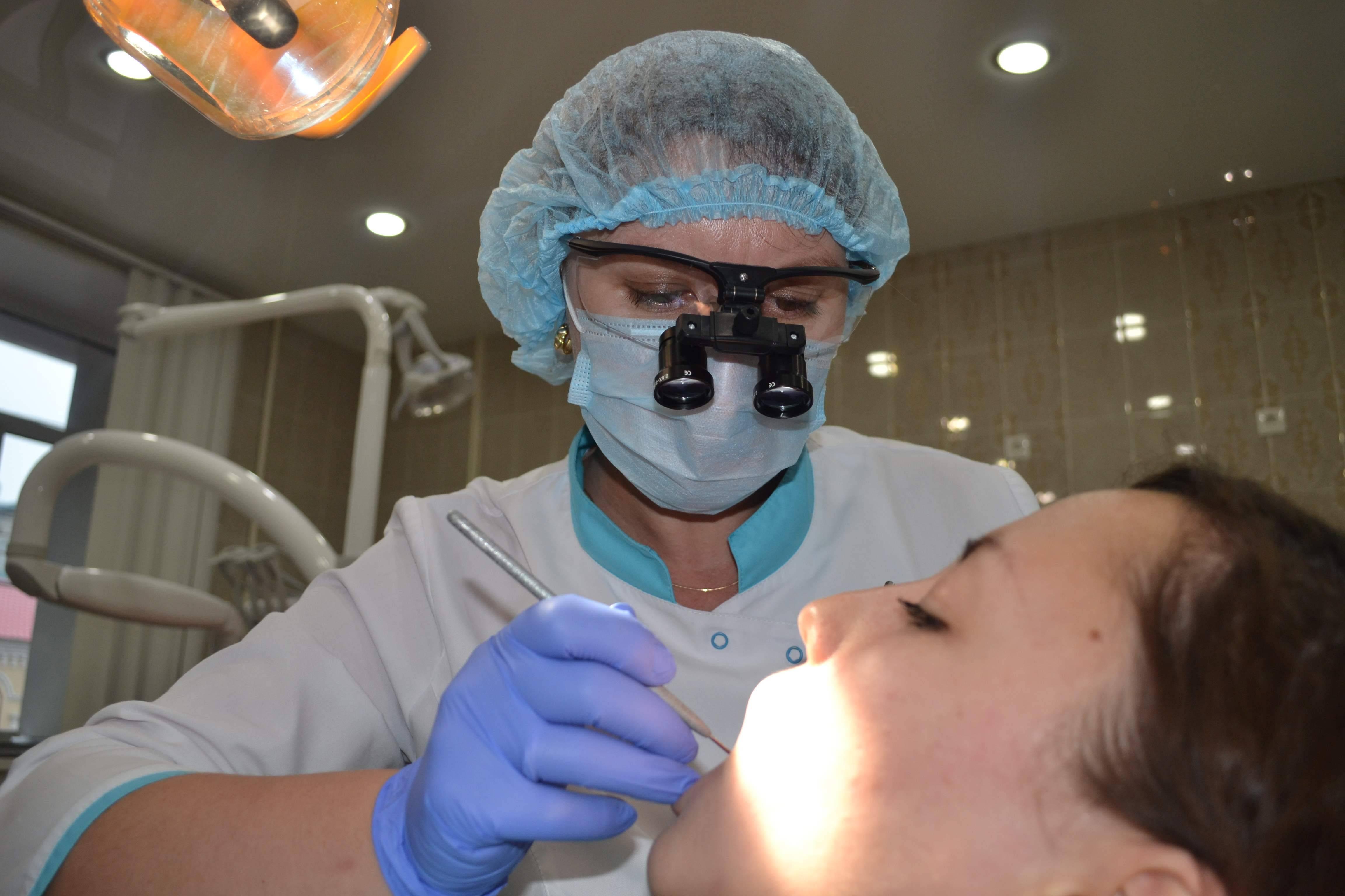 Бинокуляры на службе стоматологов